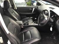 2008 Nissan Qashqai SUV 2wd 1.6 115 Tekna Petrol black Manual