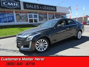 2014 Cadillac CTS Luxury   CAM! CUE! NAV! ROOF!
