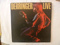 DERRINGER LPs - 4 to choose from