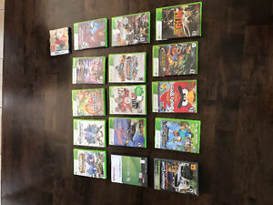 Jeux et manettes pour console Xbox 360