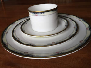 "ROYAL DALTON CHINA - ""Rhodes"" - 12 piece place setting"