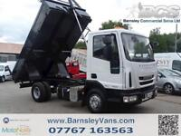 2013 63 IVECO EUROCARGO 75E16K AUTO TIPPER ONLY 47K STUNNING THROUGHOUT