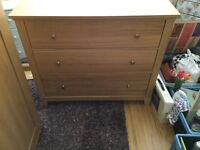 Pine look IKEA drawers FOR SALE