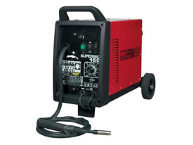 Sealey Supermig 150 Professional Gas Welding - 150AMP Mig Welder 230V With Torch