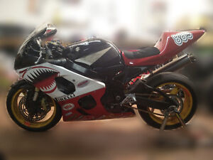 GSXR600 diablo 2004 track bike. Race ready