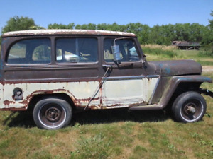 1962 Willys wagon will part out or sell whole