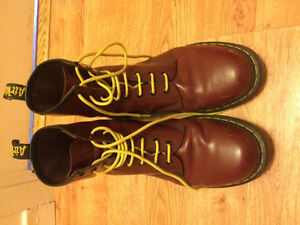 Doc Martin combat style boots, size 11