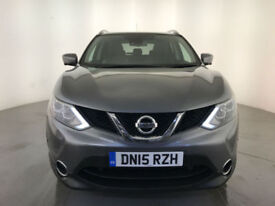 2015 NISSAN QASHQAI TEKNA DCI DIESEL 1 OWNER SERVICE HISTORY LEATHER INTERIOR