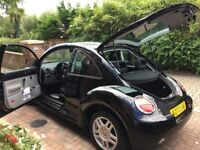 VW BEETLE , LEFT HAND DRIVE, 2000 UK PLATE 12 month MOT