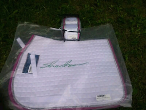 Brand New Sparkle Saddle Pad and Polo Wraps