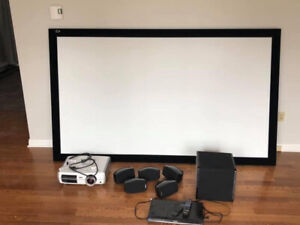 Complete Home Theatre system for sale - In excellent condition!!