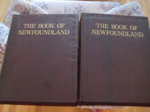 For Sale Book of Newfoundland Vols 3 and 4