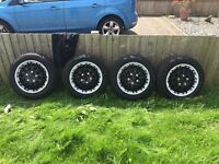 185 65 R15 Tyres and Steel wheels 15 inch.