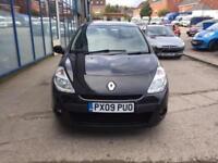 Renault Clio 1.2 16v ( 75bhp ) Expression 5 DOOR - 2009 09-REG - 8 MONTHS MOT