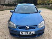 2004 Volkswagen Golf 1.4 FSI ( 90P ) - Last service 91k