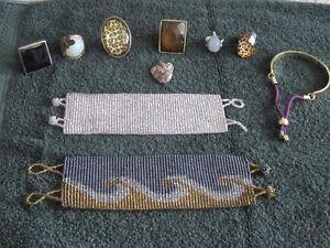 costume jewellery - rings,bracelets,pendants,chains,necklace