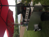 LOOKING FOR A SPOT TO PUT MY HOTDOG CART....
