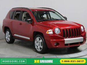 2010 Jeep Compass LIMITED 4WD A/C NAV CUIR MAGS