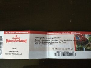 Wonderland tickets available for sale