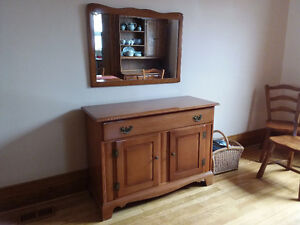Sideboard Buffet and mirror