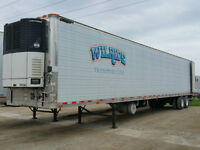 2004 GREAT DANE 53' REEFER TRAILER....10835 ORIG HOURS !!