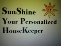 Sunshine - Your Personalized Housekeeper