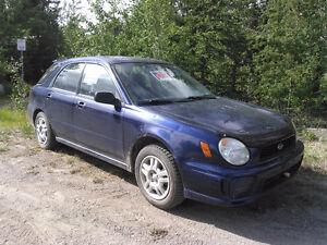 2002 Subaru Impreza Manual transmission Wagon