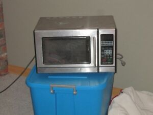 Stainless Steel small microwave