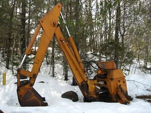 Case Backhoe Attachment - Reduced