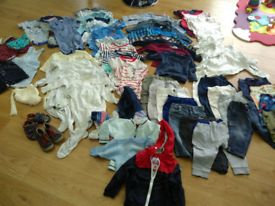 Cloth bundle boy 9-12 months
