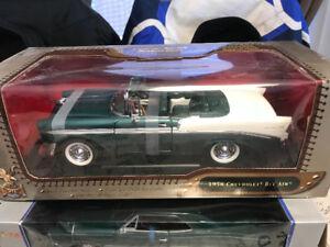 Chevrolet bel air 1956 neuf cuir diecast 1/18 Die cast