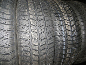 P205/55R16 WINTER TIRES SET 4 TAX IN $299.00