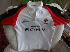Rugby Canada 2007 World Cup Large Barbarian Sony Guinness Shirt
