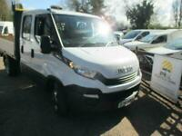 2017 Iveco Daily 35 C14 DIESEL 2.3 CREW CAB TIPPER NO VAT 68K (DUE IN)