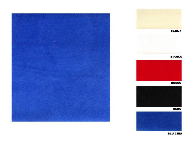 Tessuto stoffa velluto sofia H 145 cm per abbigliamento vendita al metro