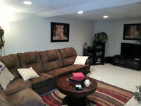 Very Large 1 Bedroom, Basement Level of Tecumsh Executive Home
