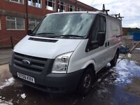 Ford transit 85 t260m low miles, long MOT, great condition ready for work, no VAT!