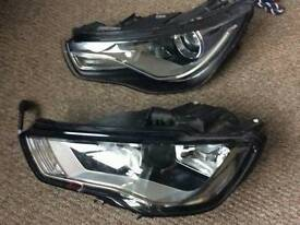 Audi a1 sline head lights & 2009 / 2013 golf rear lights and new shape Astra wing mirror