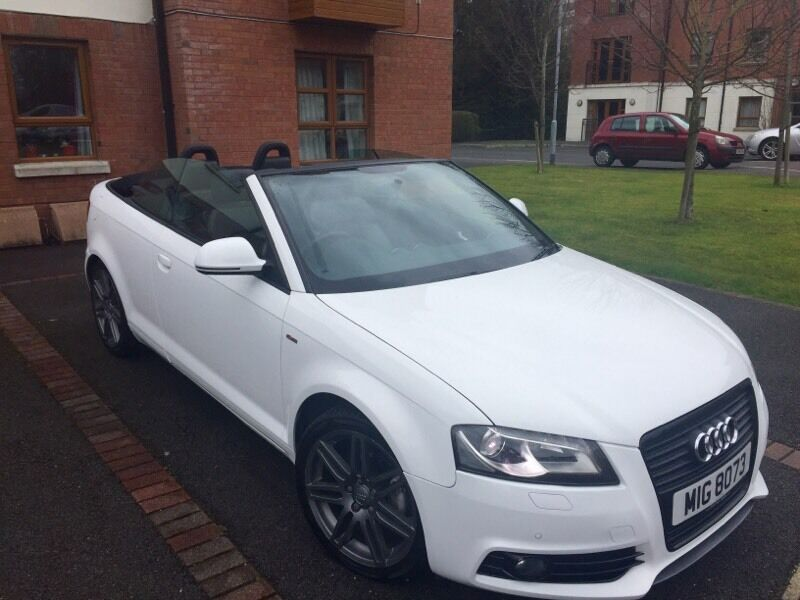 2010 audi a3 s line black edition convertible 2 0 tdi 140 in dunmurry belfast gumtree. Black Bedroom Furniture Sets. Home Design Ideas