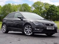 SEAT Leon 1.4 EcoTSI FR (Tech Pack) SportCoupe 3dr (start/stop) (black) 2015