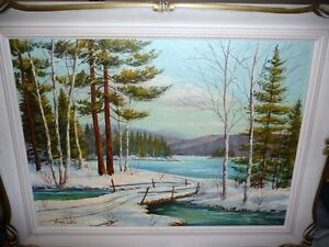 "Nora Roberts ""Untitled"" Original Oil Painting"
