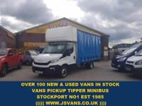 2015 64 IVECO-FORD DAILY 35C150 BHP 3.0 HPI EXTRA L.W.B JUMBO CURTAINSI
