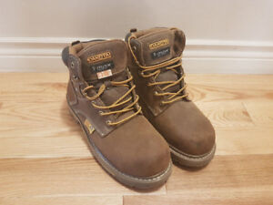 New - Steel Toe Boots Size 10.5