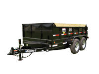 7 ton dump trailer for rent or hire