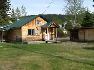House for sale in beautiful Wells BC