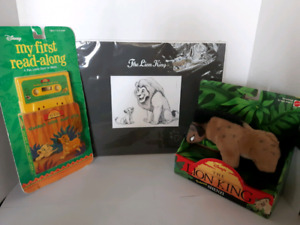The Lion King Movie Collectables