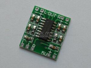 10 pcs PAM8403 2X3W Mini Audio Class D amplifier board 2.5-5V input US SHIP M323