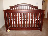 Europa Baby Crib with mattress
