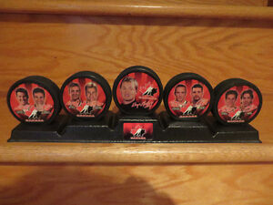 McDonalds 2002 Team Canada Hockey Puck Set