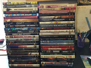 Assorted DVDs & Blu-Rays